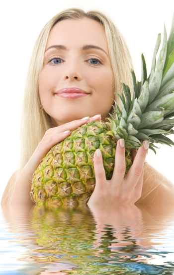 Perdez trois kilos en une semaine avec la diète de l'ananas